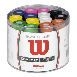 Boite 50 surgrips WILSON BOWL O GRIPS