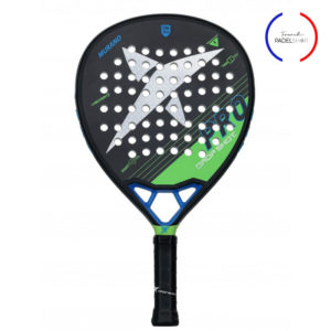 raquette de padel drop shot avec logo french padel shop