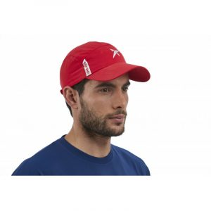 Casquette DROP SHOT FIBER TECH ROUGE
