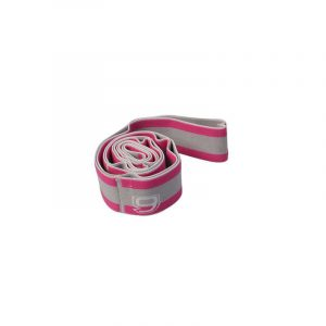 ELASTIBAND ROSE/GRIS SOFTEE