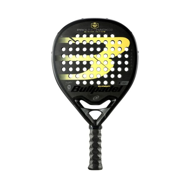 Raquette de padel BULLPADEL HACK 02 LIMITED EDITION