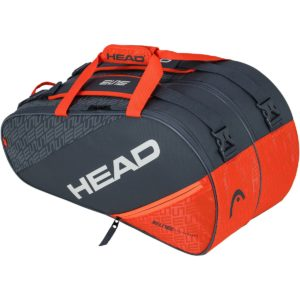 Sac de padel HEAD ELITE SUPERCOMBI ORANGE GRIS