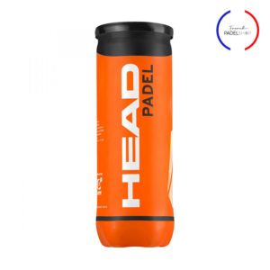tube de balles de padel head avec logo french padel shop
