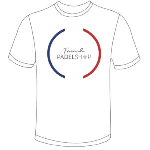T-shirt homme FRENCH PADEL SHOP BLANC