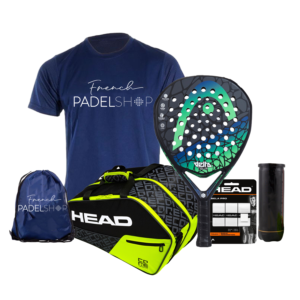 Raquette de padel HEAD GRAPHENE TOUCH DELTA TOUR