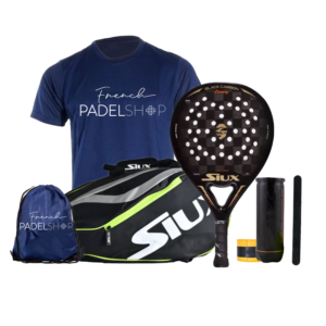 Raquette de padel SIUX BLACK CARBON LUXURY