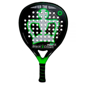 Raquette de padel BLACK CROWN PITON ATTACK 12K