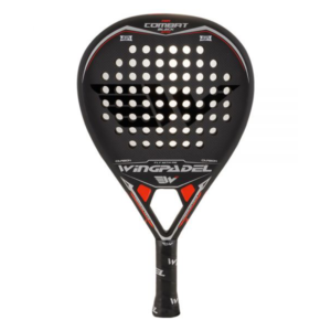 Raquette de padel WINGPADEL AIR COMBAT 3.0 ATTACK BLACK