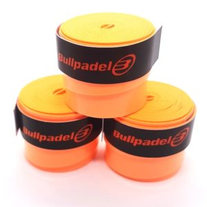 Tripack de surgrips BULLPADEL ORANGE