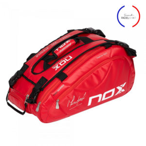 sac de padel nox avec logo french padel shop
