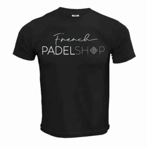 T-shirt homme FRENCH PADEL SHOP NOIR