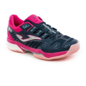 Chaussures de padel JOMA T.SLAM WPT LADY MARINE ROSE CLAY