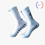 chaussettes antidérapantes blanches