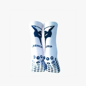 Chaussettes antidérapantes FRENCHGRIP BLANC