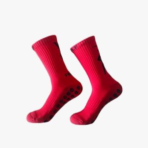 Chaussettes antidérapantes FRENCHGRIP ROUGE