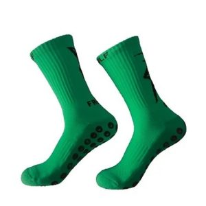Chaussettes antidérapantes FRENCHGRIP VERT